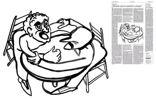 Publicada en La Vanguardia, sección de Opinión 9-02-2006