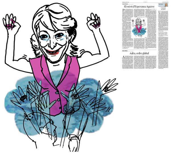 Publicada en La Vanguardia, sección de Opinión, 4-05-2011