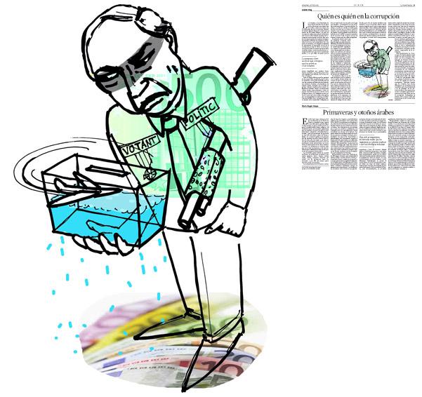 Publicada en La Vanguardia, sección de Opinión, 31-07-2011