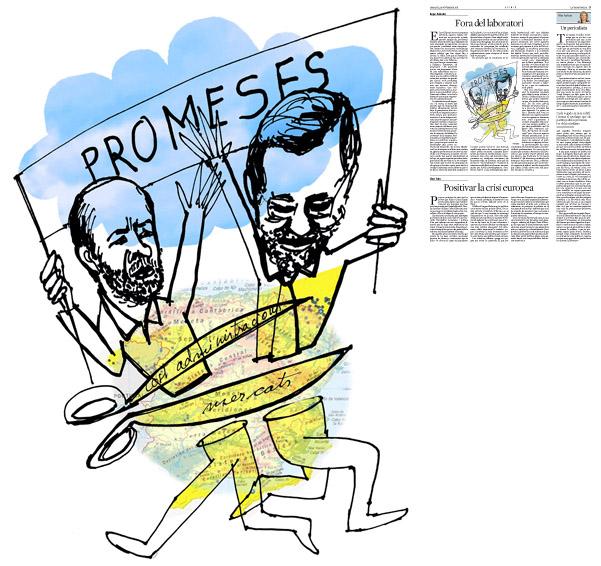 Publicada en La Vanguardia, sección de Opinión, 15-11-2011