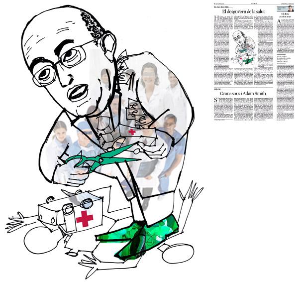 Publicada en La Vanguardia, sección de Opinión, 6-01-2012