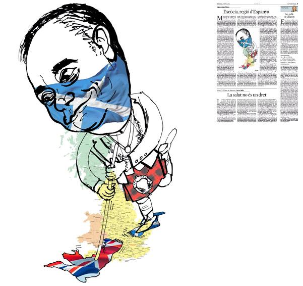 Publicada en La Vanguardia, sección de Opinión, 25-01-2012