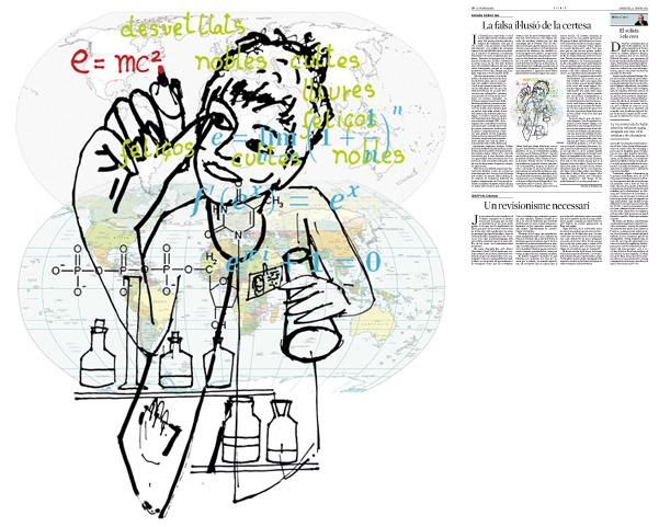 Publicada en La Vanguardia, sección de Opinión, 22-02-2012