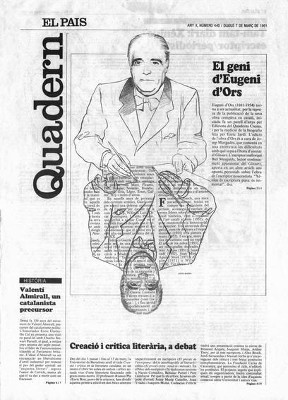 Publicada en El País, suplement Catalunya, 7-03-1991