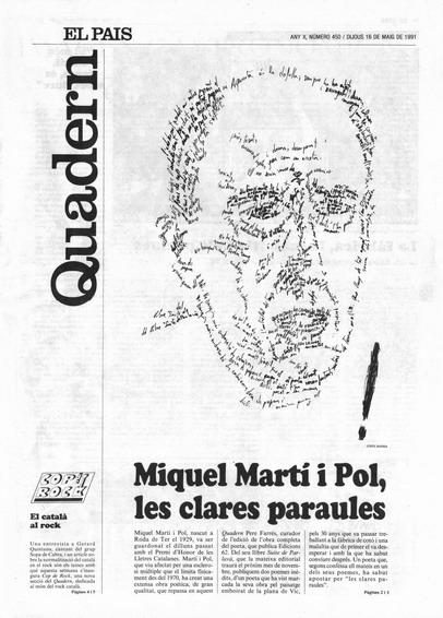 Publicada en El País, suplement Catalunya, 16-05-1991