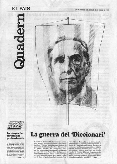 Publicada en El País, suplement Catalunya, 18-07-1991