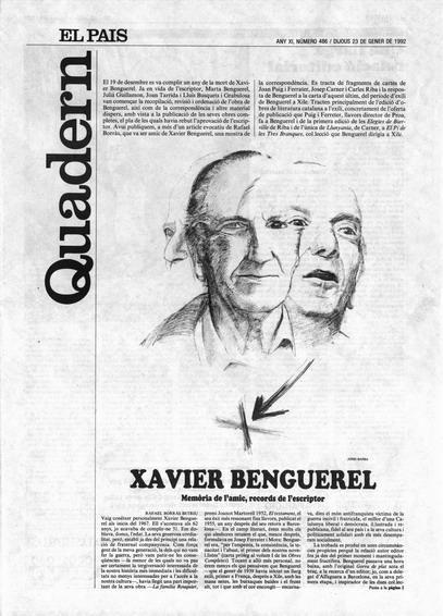 Publicada en El País, suplement Catalunya, 23-01-1992