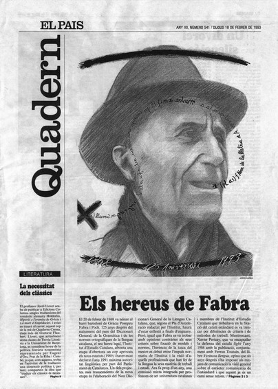 Publicada en El País, suplement Catalunya, 18-02-1993