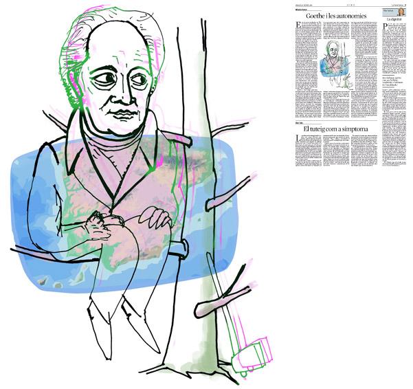 Publicada en La Vanguardia sección de Opinión 4-02-2014