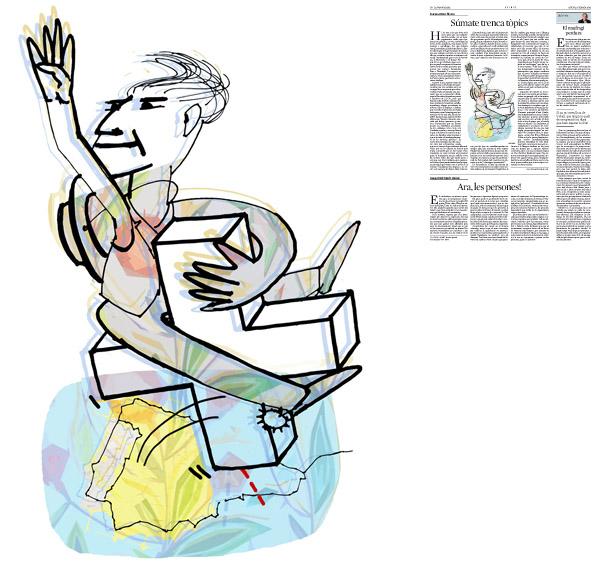 Publicada en La Vanguardia, sección de Opinión 6-02-2014