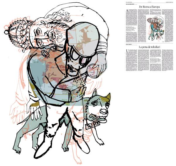 Publicada en La Vanguardia, sección de Opinión 8-02-2014