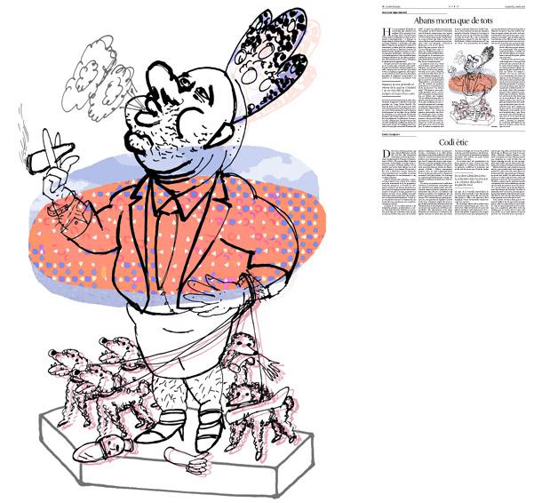 Publicada en La Vanguardia, sección de Opinión 3-05-2014 para el artículo de Juan-José López Burniol