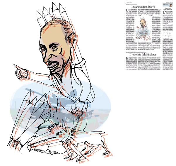 Publicada en La Vanguardia, sección de Opinión 7-05-2014 para el artículo de Lluís Foix