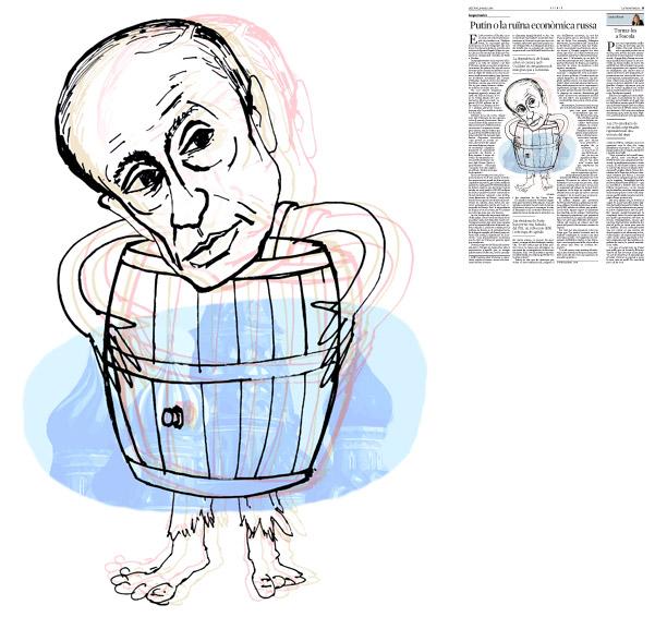 Publicada a La Vanguardia, secció d'Opinió 19-05-2014 per a l'article de Serguei Guríev