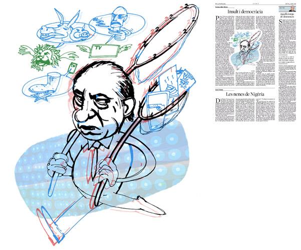 Publicada a La Vanguardia, secció d'Opinió 22-05-2014 per a l'article de Francesc-Marc Álvaro