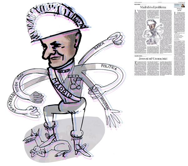 Publicada a La Vanguardia, secció d'Opinió 26-05-2014 per a l'article de Borja de Riquer