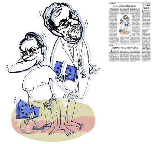Publicada en La Vanguardia, sección de Opinión 29-05-2014 para el artículo de Francesc-Marc Álvaro