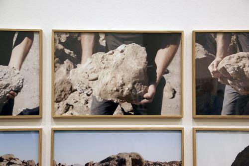 Exposició de Xavier Ribas al MACBA. Fotografia de Jordi Barba