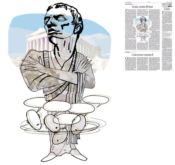 Publicada en La Vanguardia, sección de Opinión 5-06-2014 para el artículo de Francesc-Marc Álvaro