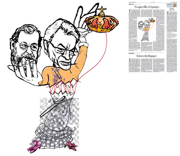 Publicada en La Vanguardia, sección de Opinión 10-06-2014 para el artículo de Alfredo Pastor