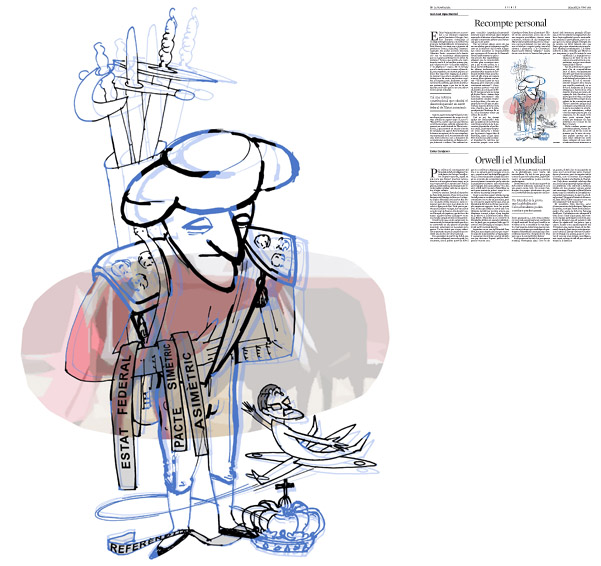 Publicada en La Vanguardia, sección de Opinión 14-06-2014 para el artículo de Juan-José López Burniol