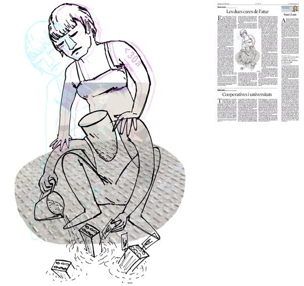 Publicada a La Vanguardia, secció d'Opinió 24-06-2014 per a l'article de Alfredo Pastor