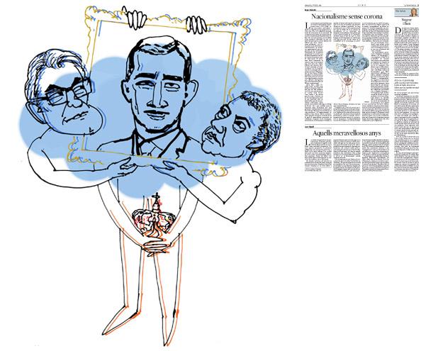 Publicada en La Vanguardia, sección de Opinión 1-07-2014 para el artículo de Kepa Aulestia