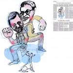 Jordi Barba, il·lustració publicada a La Vanguardia, secció d'Opinió 1-11-2014, per l'article de Juan-José López Burniol