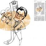 Jordi Barba, il·lustració publicada a La Vanguardia, secció d'Opinió 2-12-2014, per l'article de Kepa Aulestia