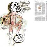 Jordi Barba, il·lustració publicada a La Vanguardia, secció d'Opinió 25-12-2014, per l'article de Francesc-Marc Álvaro