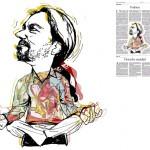 Jordi Barba, il·lustració publicada a La Vanguardia, secció d'Opinió 30-12-2014, per l'article de Kepa Aulestia
