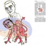 Jordi Barba, il·lustració publicada a La Vanguardia, secció d'Opinió 29-01-2015, per l'article de Francesc-Marc Álvaro