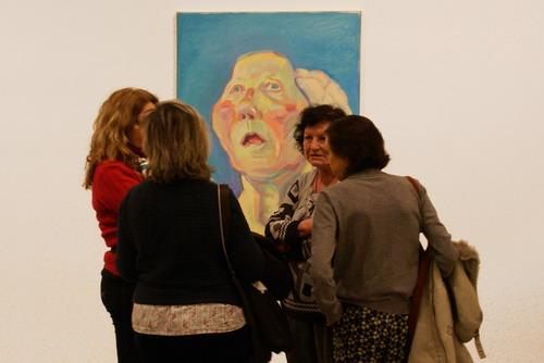 Exposició a la Fundació Tàpies de Maria Lassnig
